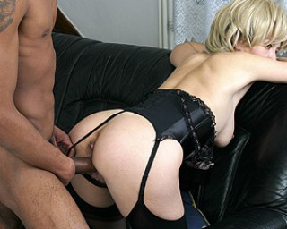 This housewife loves a big hard black cock